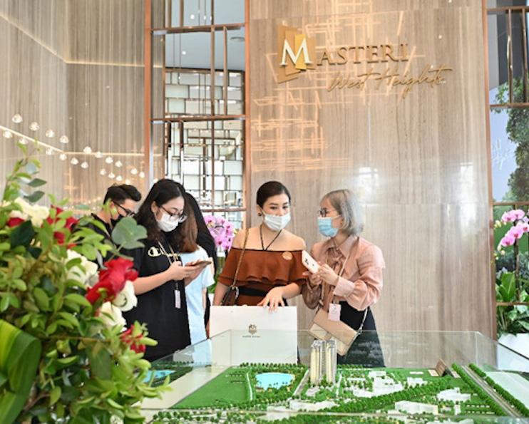 Masteri West Heights thu hút khách trong lần đầu ra mắt tại Hà Nội